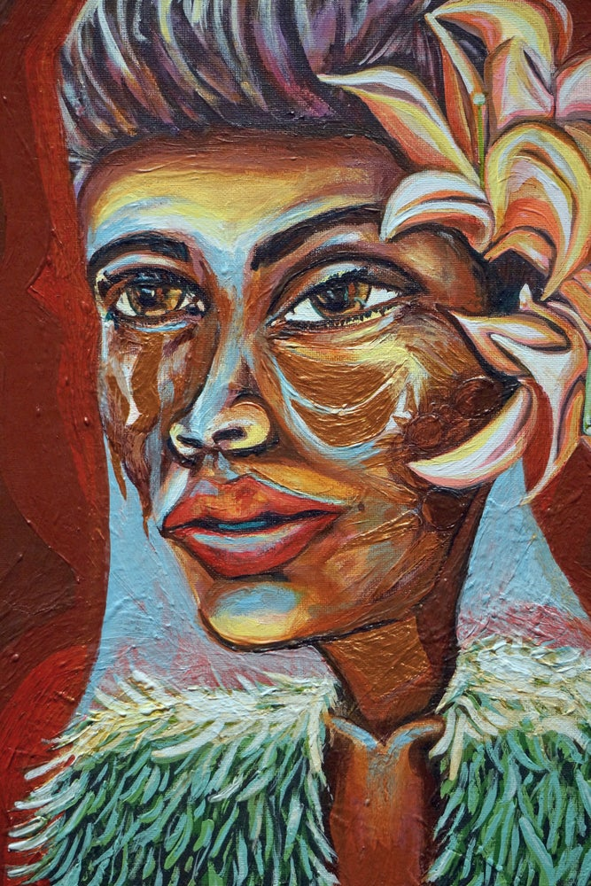 Image of Lady Day Original Painting