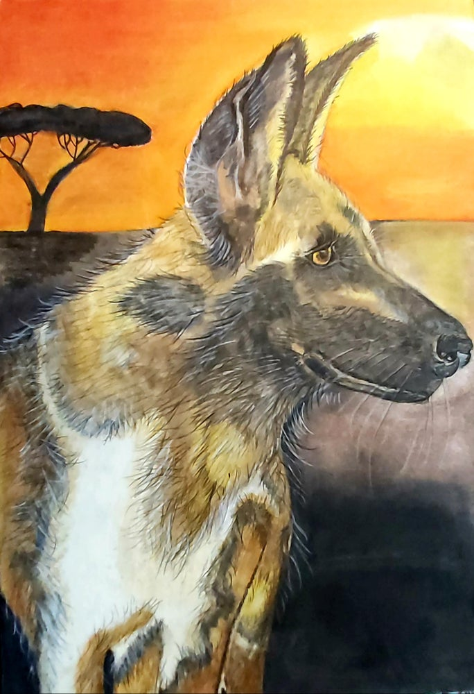 Spirit of the African Painted Dog