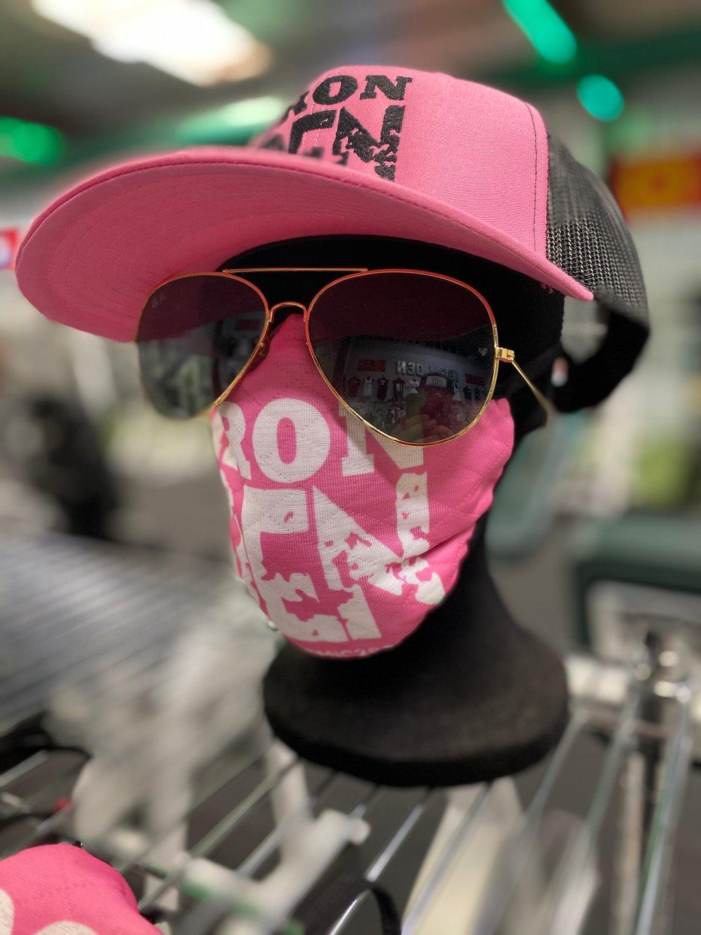 Face Mask - Iron Den Pink
