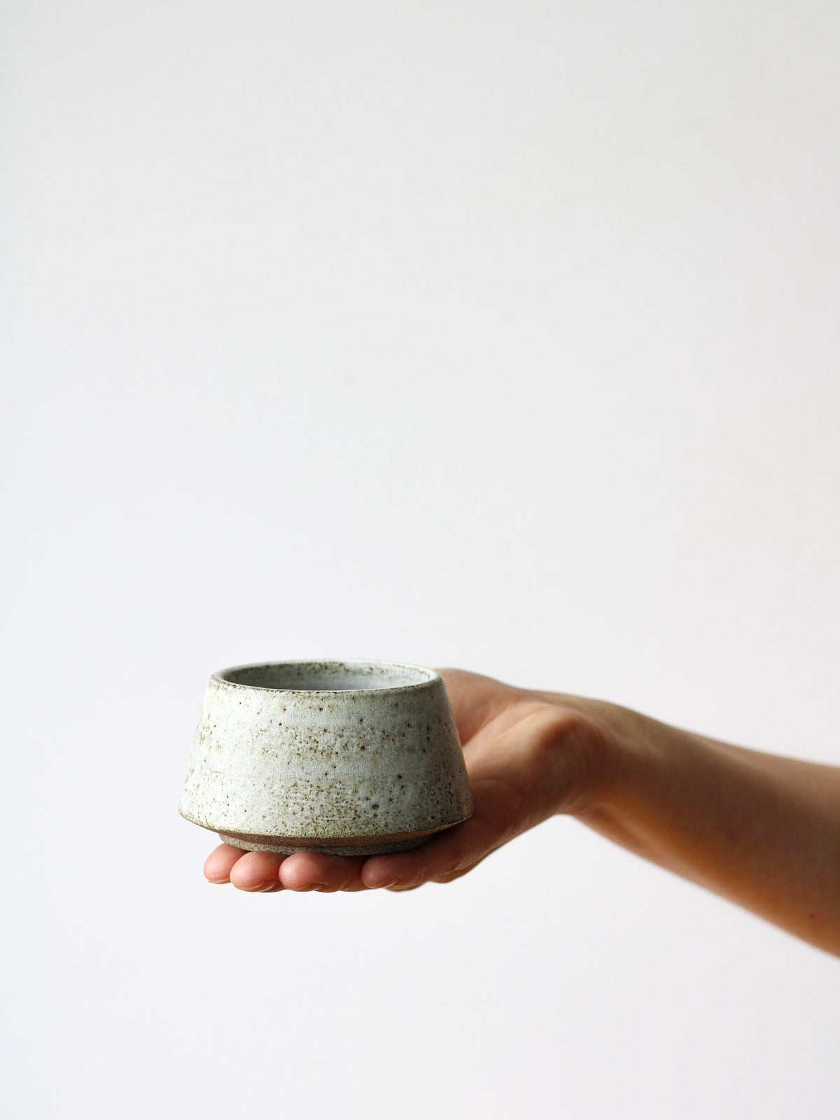 Image of mini matcha bowl (white)