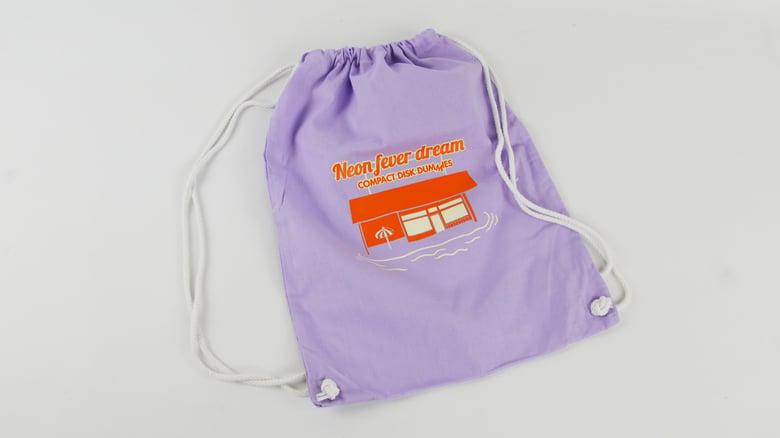 """Image of """"Neon Fever Dream"""" Gym Bag Lila"""