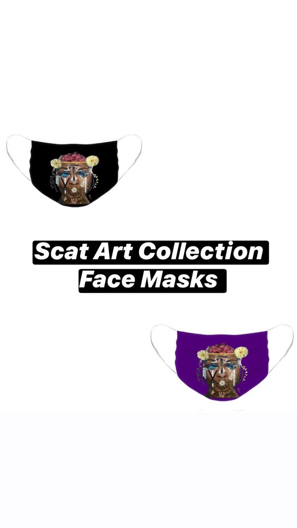 Image of Wearable Art Face Masks