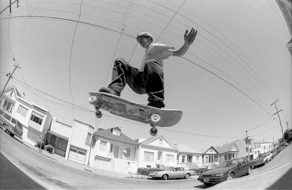 Noah Peacock, Elcelsior San Francisco 1988 by Tobin Yelland