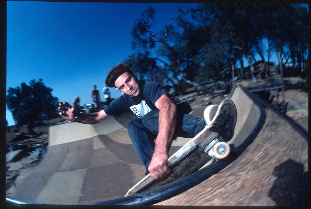 Ricky Winsor, Troys ramp, Sacramento by Tobin Yelland