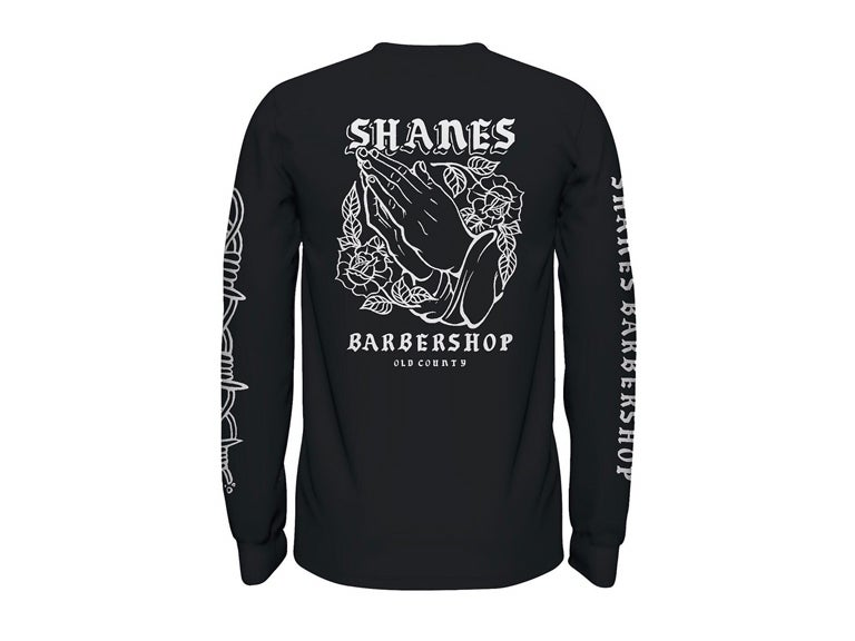"Image of Shane's ""Old County"" Longsleeve (Black)"