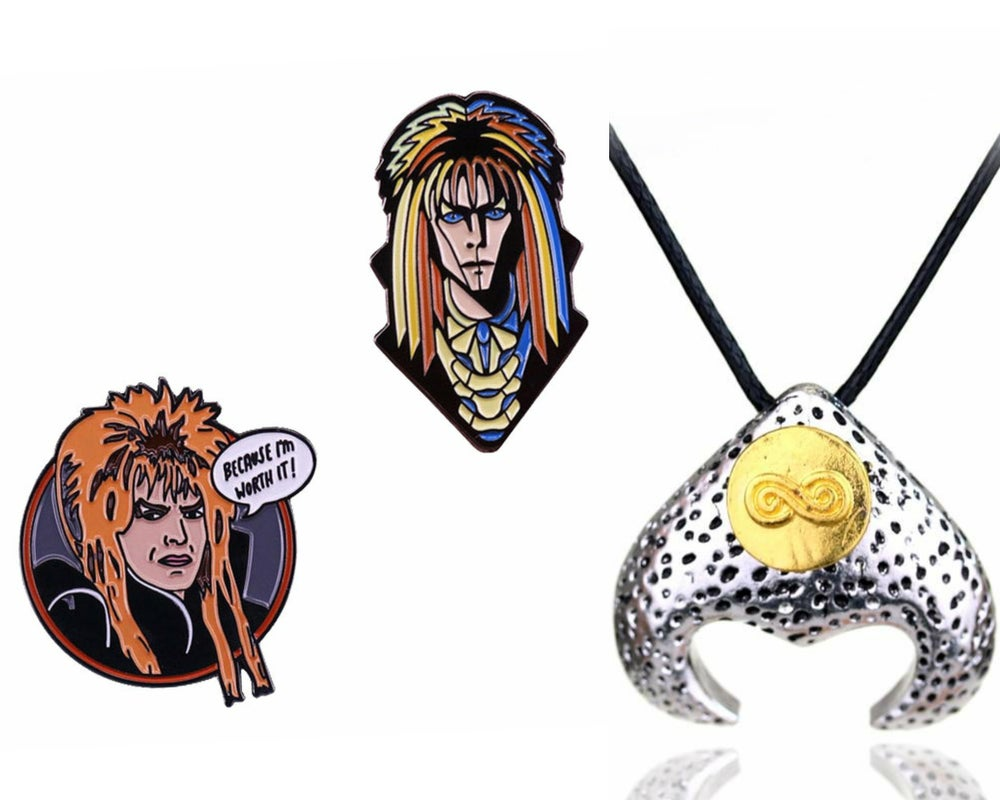 Labyrinth Badge & Necklace Set