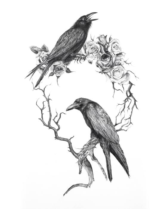 Image of CAUDA CORVUS Original Artwork