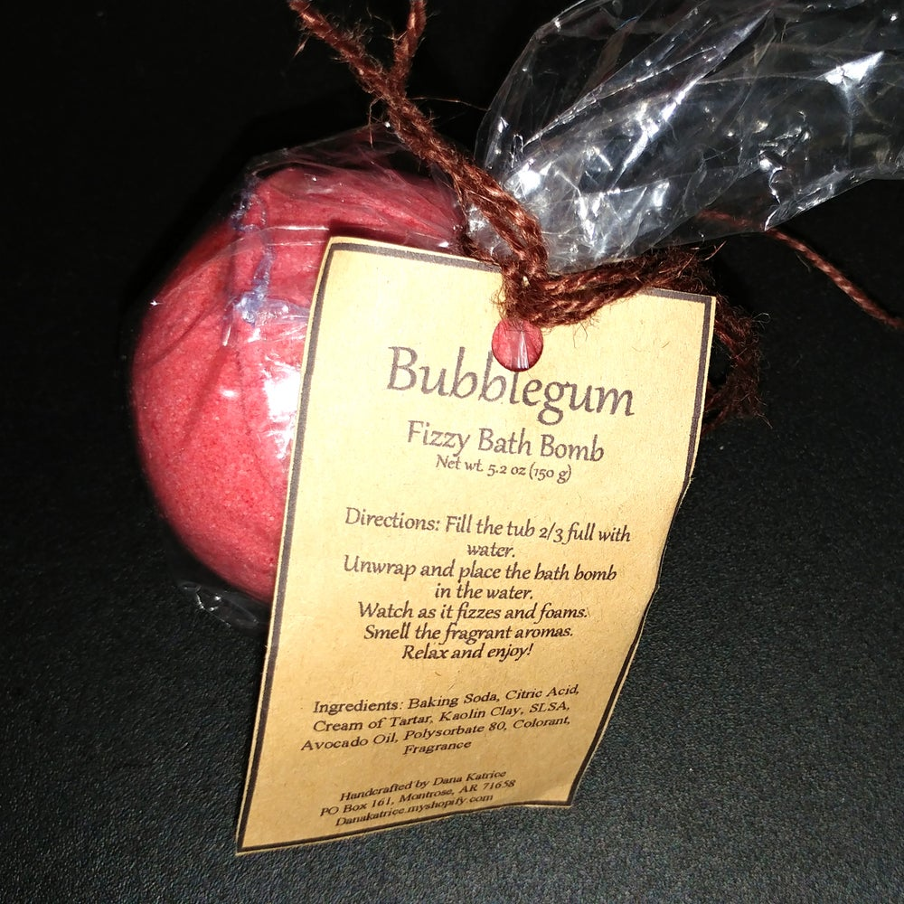 Image of Bubblegum - Fizzy Bath Bomb