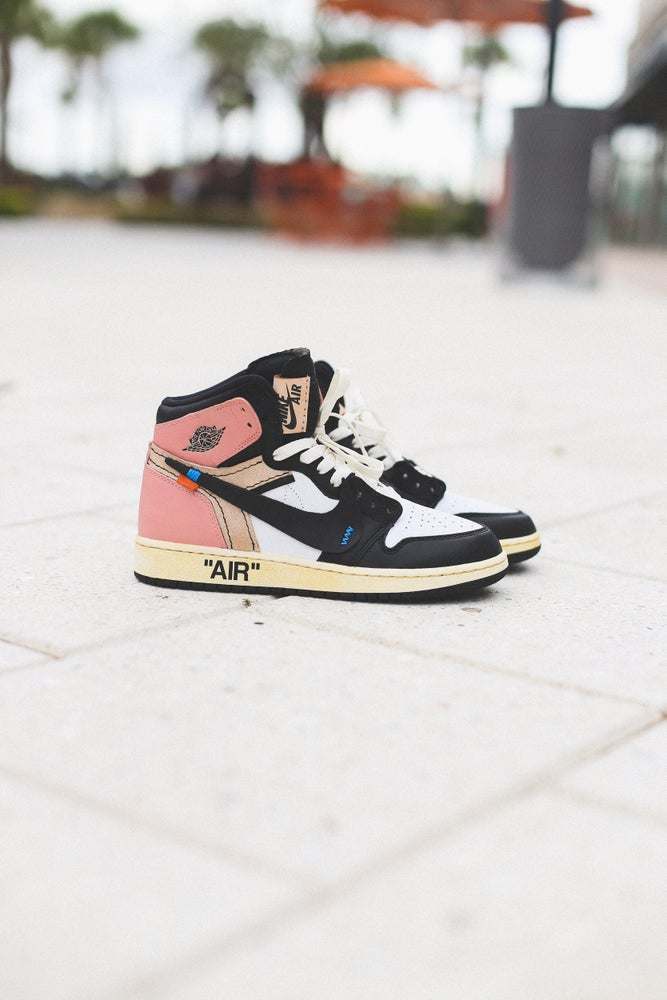 "Image of Jordan Retro 1 ""Rust Pink"""