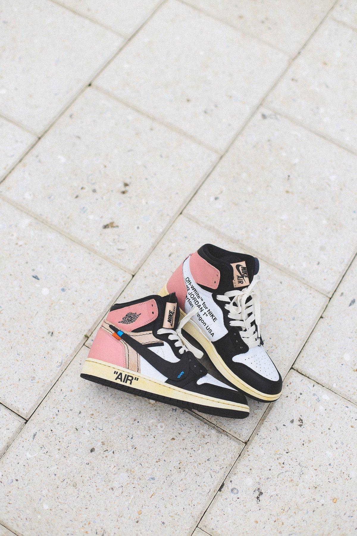 """Image of Jordan Retro 1 """"Rust Pink"""""""