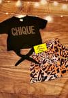 """""""Too Chique"""" 2 Piece Leopard Print Set"""