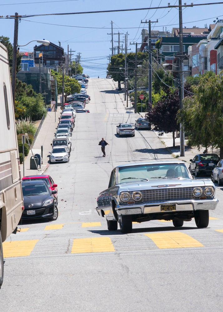 Jake Phelps, De Haro and 19th St, San Francisco 2016 by Tobin Yelland