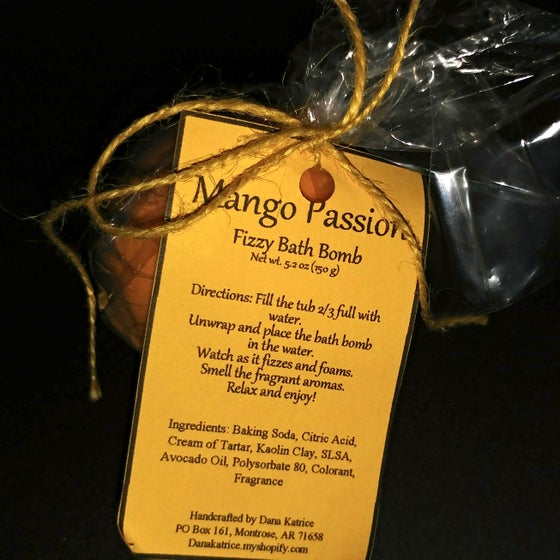 Image of Mango Passion - Fizzy Bath Bomb