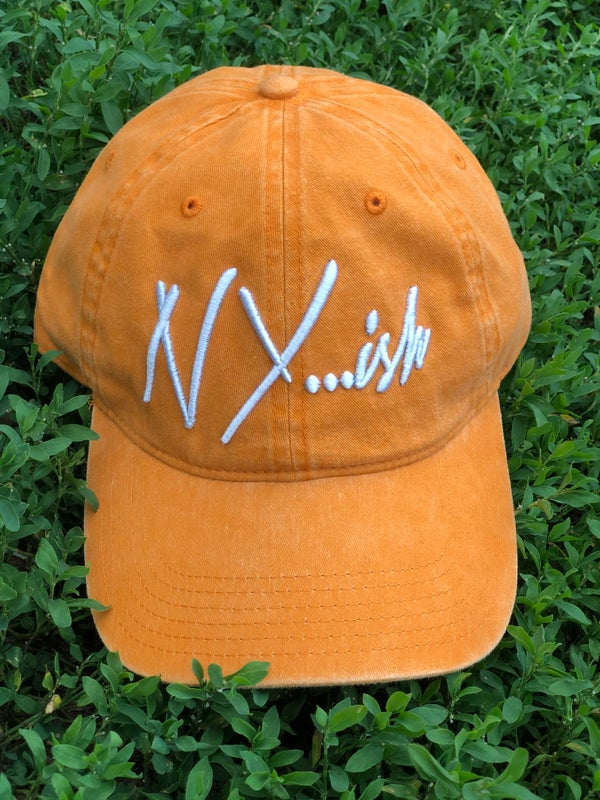 Image of Nyish Dad Hat (Orange)