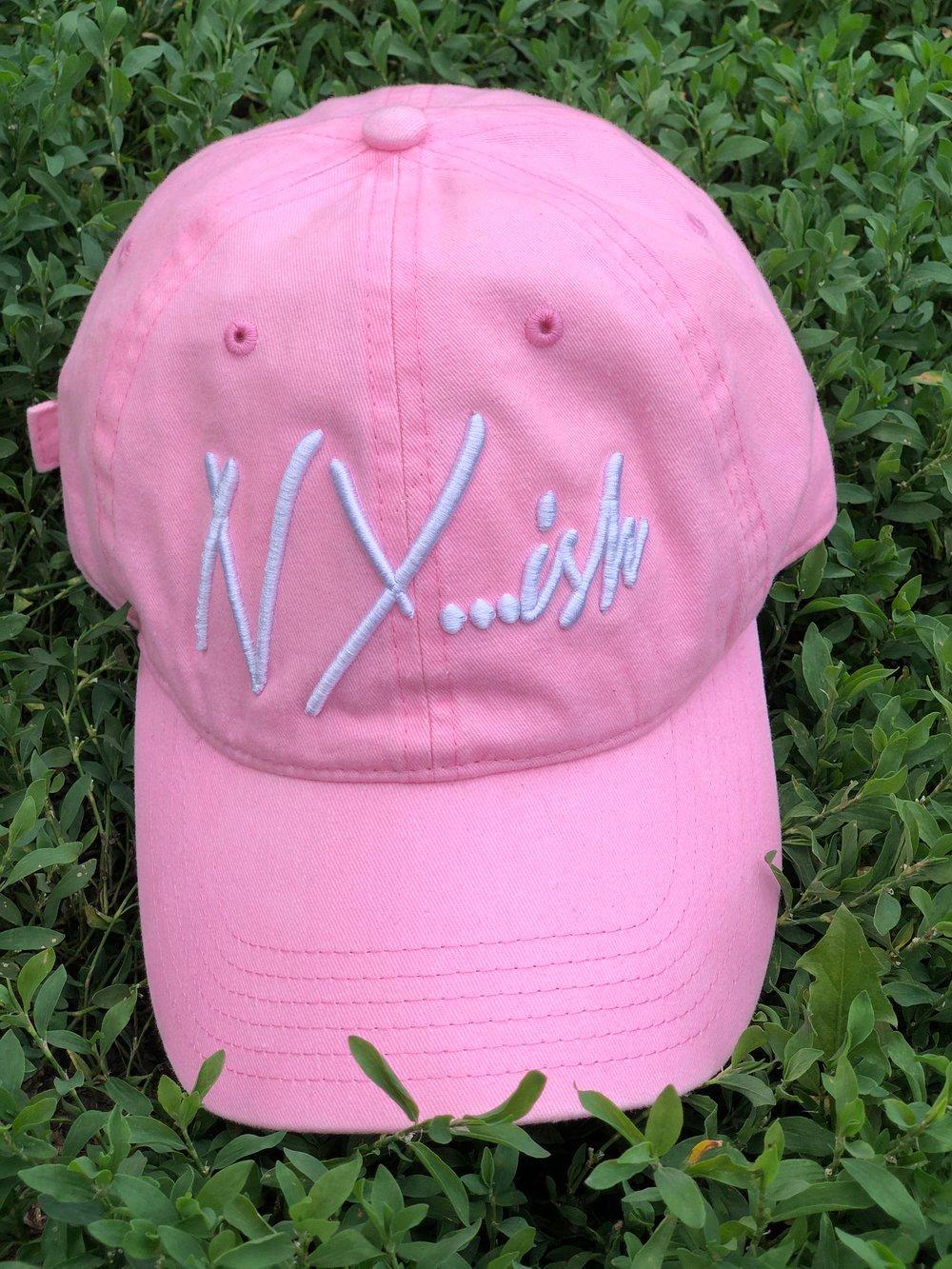 Image of Nyish Dad Hat (Pink)