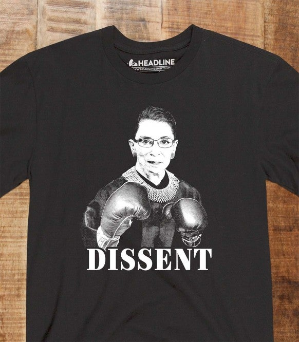 Image of Men's RBG Dissent Tee