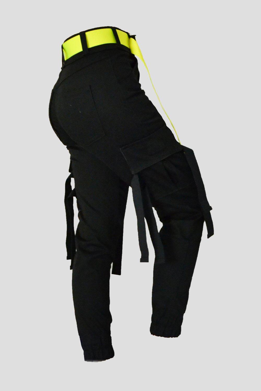 Image of Black cargo pants