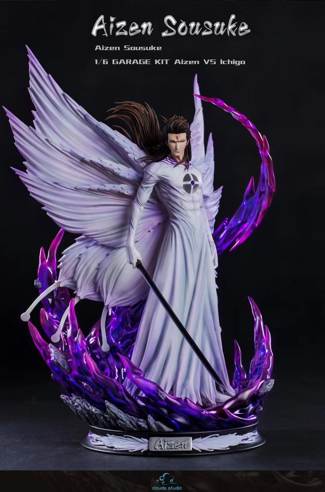 Image of [Pre-Order]Bleach Clouds Studio Aizen Resin Statue