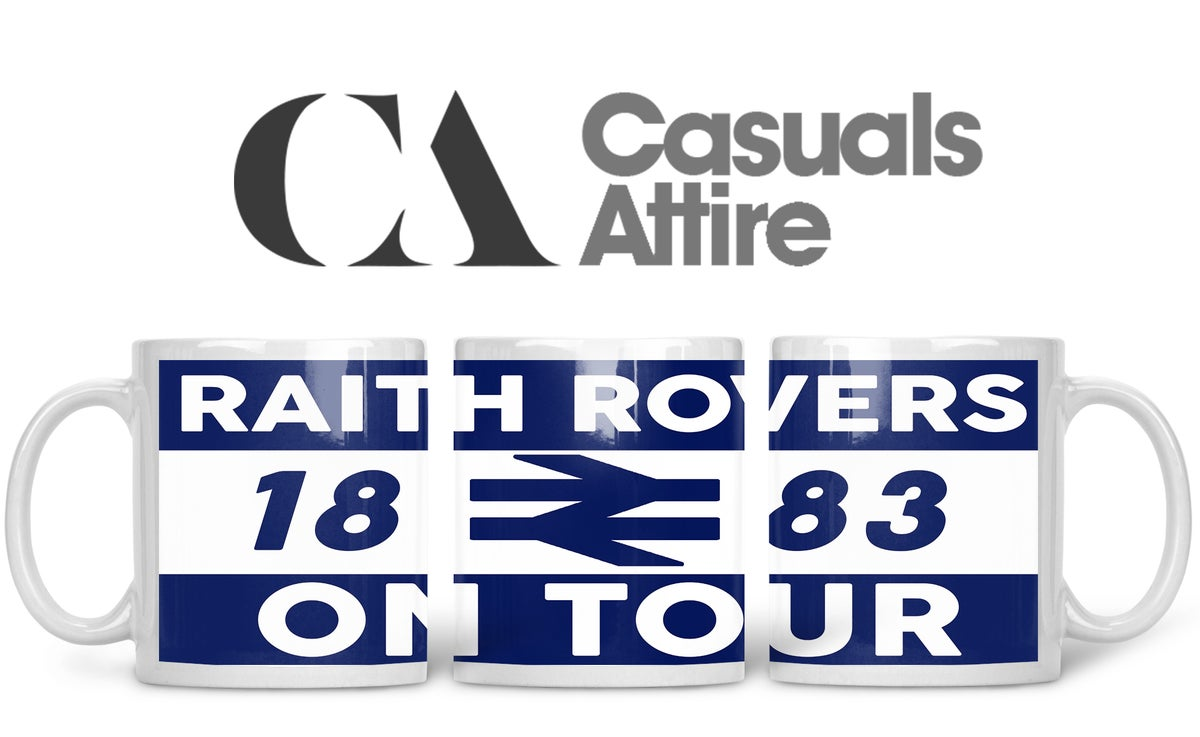 Raith, Football, Casuals, Ultras, Fully Wrapped Mugs. Unofficial. FREE UK POSTAGE