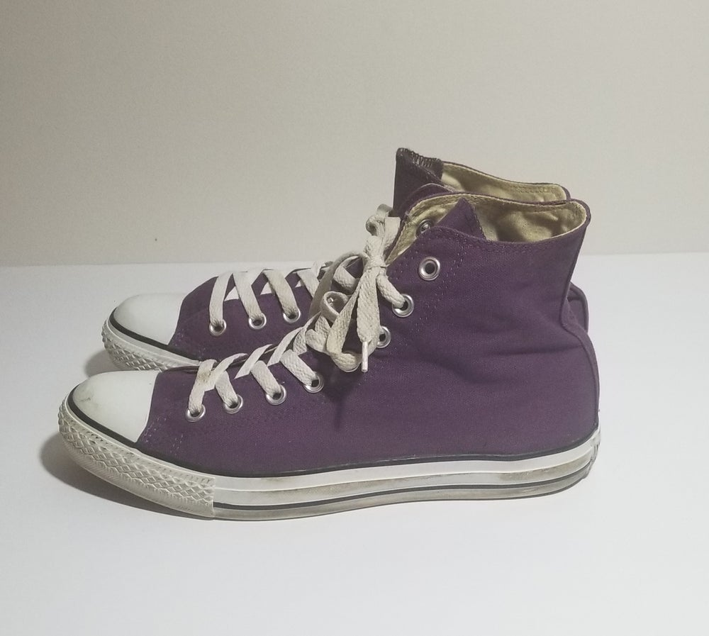 Image of Chucks Hi Grape Jelly - Men's Size 9/Women's Size 11
