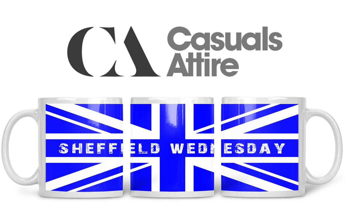 Sheff Wed, Football, Casuals, Ultras, Fully Wrapped Mugs. Unofficial. FREE UK POSTAGE
