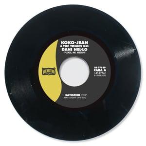 "Image of Koko-Jean & The Tonics featuring Dani Nel·lo ""Please Mr. Milton"" - Vinilo Negro"