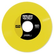 "Image of Koko-Jean & The Tonics  featuring Dani Nel·lo ""Please Mr. Milton"" - 150 u. Vinilo Color"