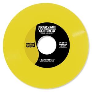 """Image of PRE ORDER - Koko-Jean & The Tonics  featuring Dani Nel·lo """"Please Mr. Milton"""" - 150 u. Vinilo Color"""