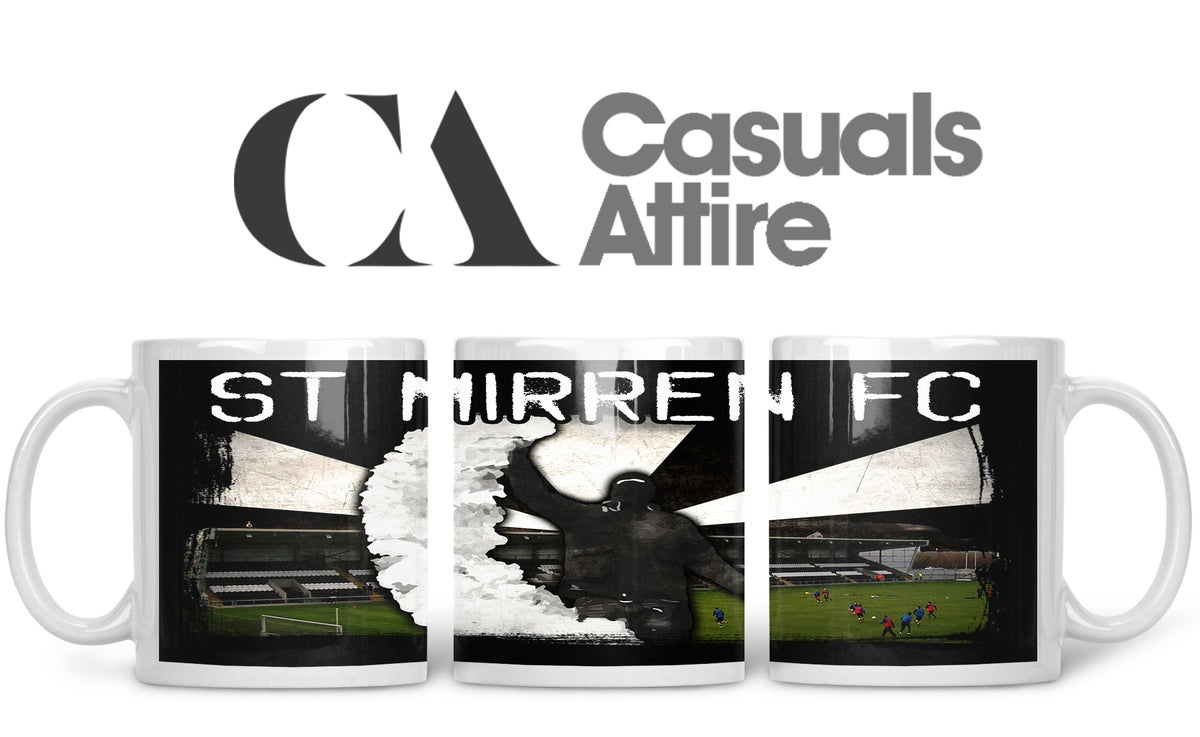 St Mirren, Football, Casuals, Ultras, Fully Wrapped Mugs. Unofficial. FREE UK POSTAGE