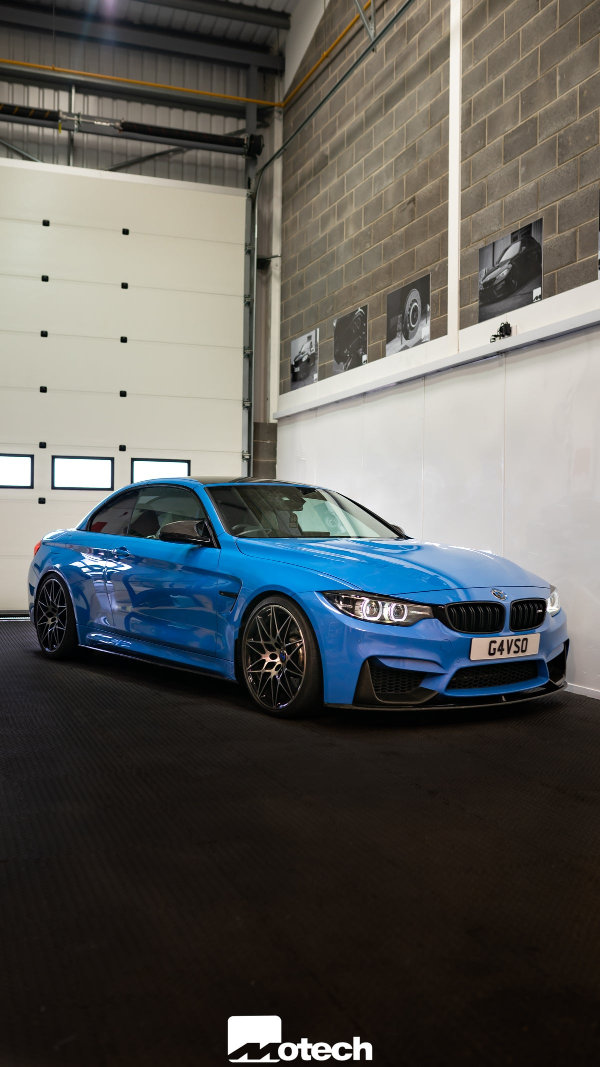 Image of BMW M4 Motech Stance Lowering Springs