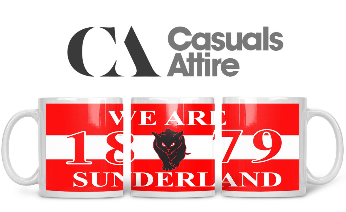 Sunderland, Football, Casuals, Ultras, Fully Wrapped Mugs. Unofficial. FREE UK POSTAGE