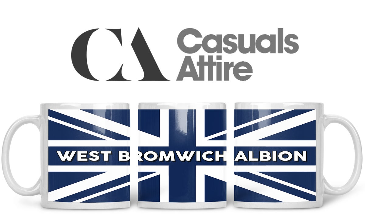 West Brom, Football, Casuals, Ultras, Fully Wrapped Mugs. Unofficial. FREE UK POSTAGE