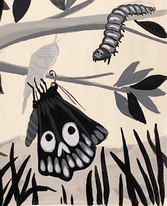 Image of Mariposa y Muerte
