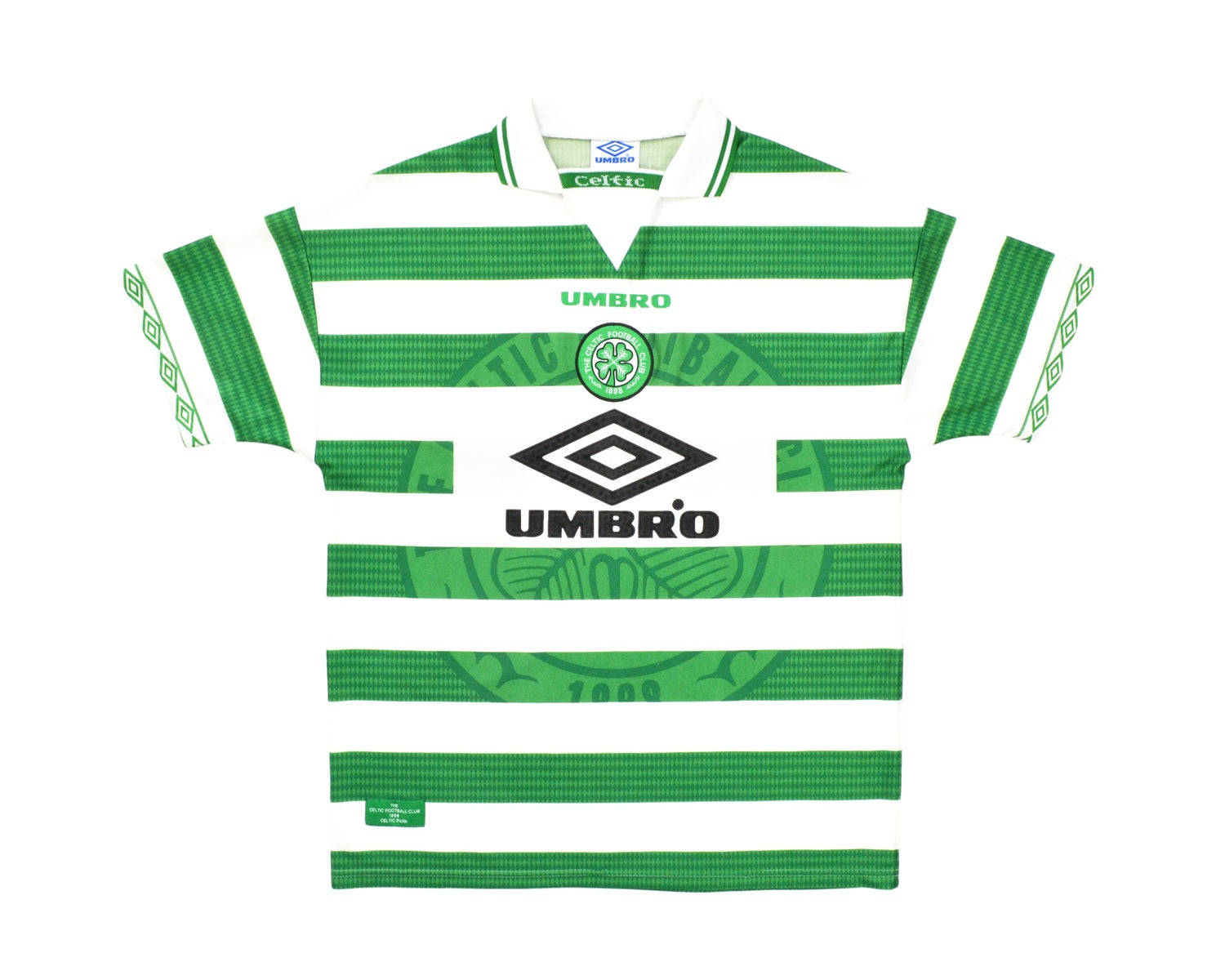 Image of 1998-99 Umbro Celtic Home Shirt XL