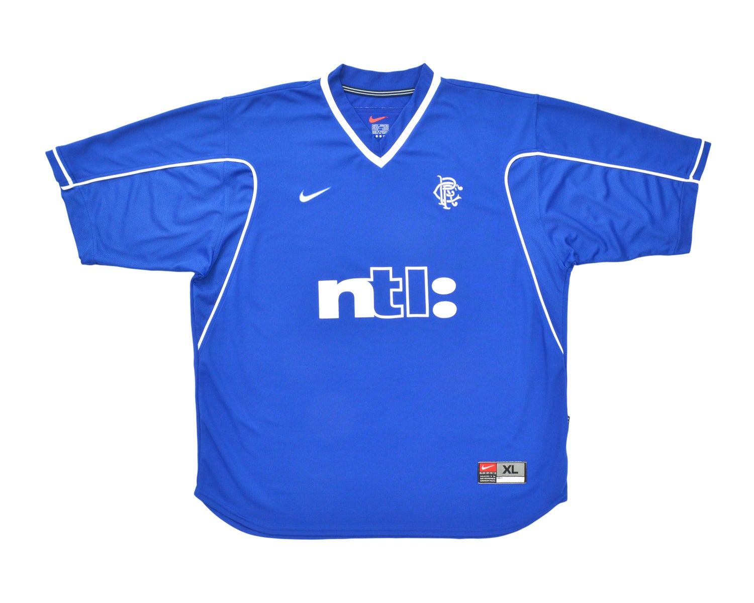 Image of 1999-00 Nike Rangers Home Shirt XL