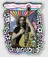 """Flower Jerry 4"""" Holographic sticker"""
