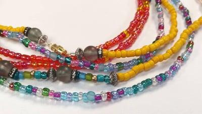 Image of Large: Melanin Fiesta Waist Beads Set
