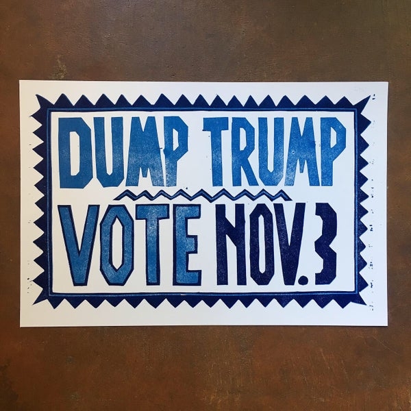 Image of DUMP TRUMP Poster