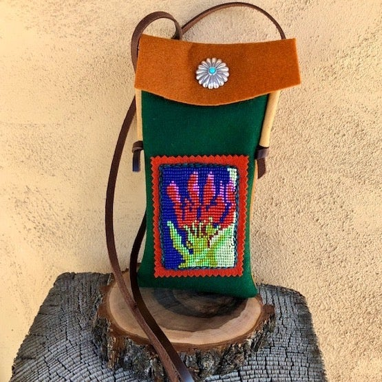 Image of Paintbrush Cell Phone Pouch