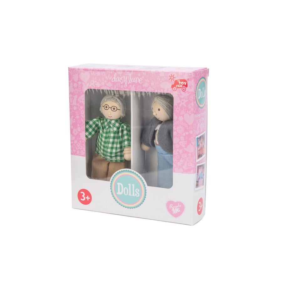 Image of Grandparent Dolls - ONLY TO BE PURCHASED WITH OUR DOLL HOUSES