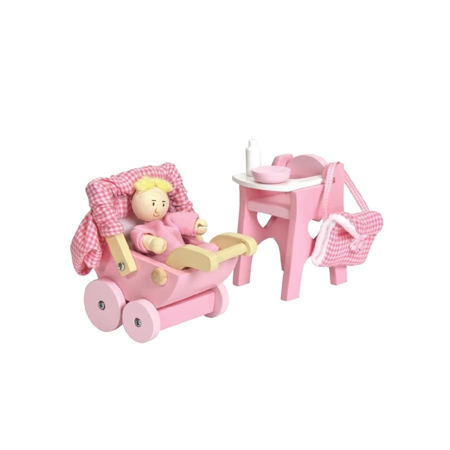 Image of Doll Nursery Set - ONLY TO BE PURCHASED WITH OUR DOLL HOUSES