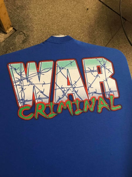 Image of Blue ecw rip LIMITED RUN