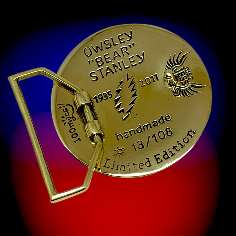 Image of Owsley Tribute Pendant cast in Sterling Silver on Sterlin Chain