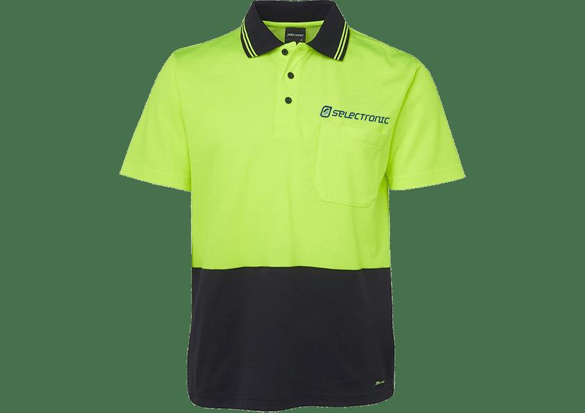 Image of Selectronic HI-VIS Polo Shirt
