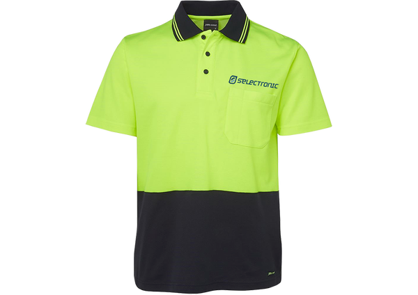 Image of Selectronic HI-VIS Polo Shirt