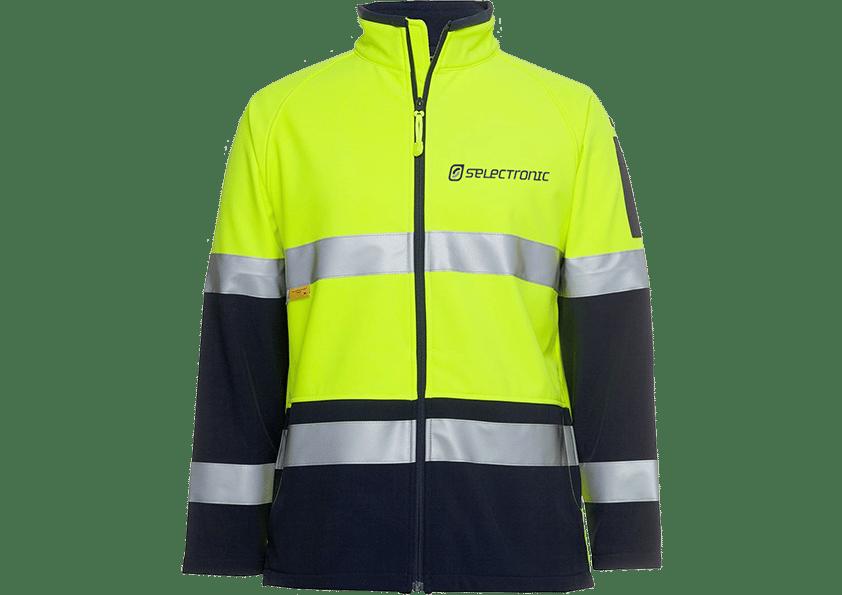 Image of Selectronic HI-VIS Softshell Jacket