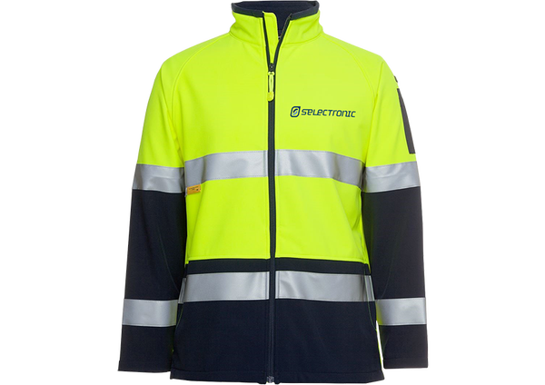 Image of Selectronic HI-VIS Softshell Jacket