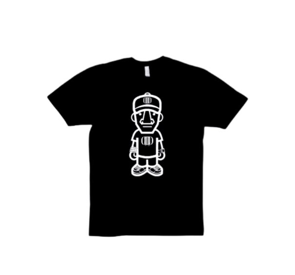 Black/White Character Tee