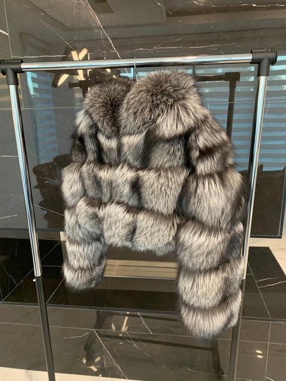 Image of Passion Fox Fur Bomber