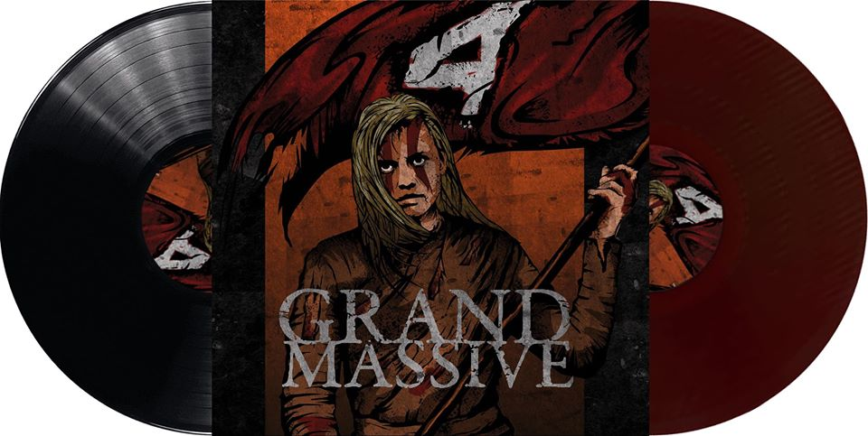 Image of Vinyl : pre-order + get your NAME on the record !!  GRAND MASSIVE - 4 (200 copies)